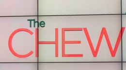 Photo of sign taken by me at 'The Chew' studios before shooting of the show began.