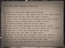 This is a poem that I copied into a photo editing program, changed the font to Courier, then added an image effect to make the paper look old. This would look really cool printed out, with torn paper edges.