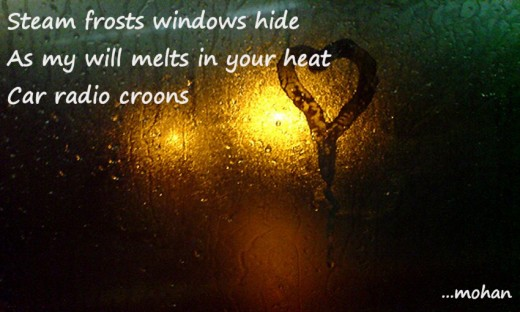 Haiga: Frost/Window