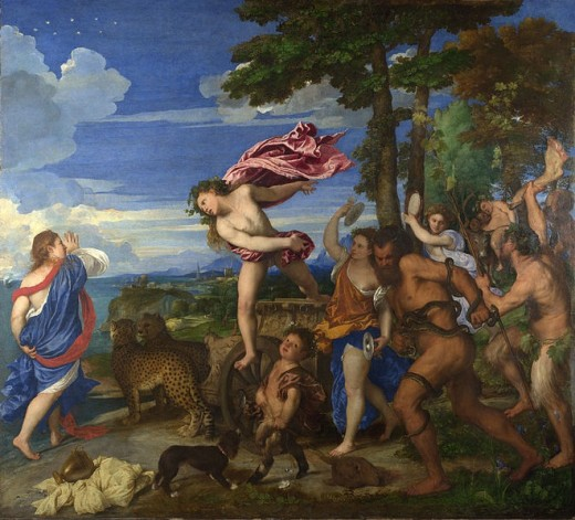 The restoration of Titian's Bacchus and Ariadne from 1967 to 1968 was a controversial restoration at the National Gallery, due to concern that the painting's tonality had been thrown out of balance