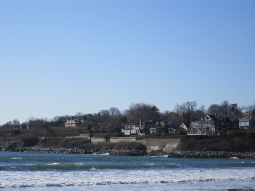 Beach in Newport, RI