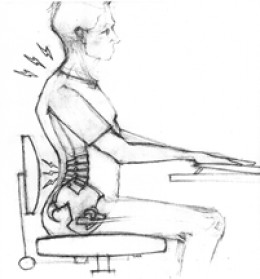 An MRI showed that I had herniated discs in my cervical spine, the spine section in the neck.