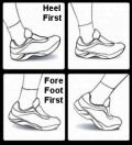 Landing Heel First when Running Doubles Stress Injury Rates, Shin Splints, Foot Pain