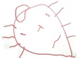 credit:  Aeden, 3-year old artist