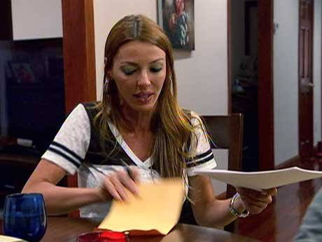 """Drita gets her affairs in order on VH1's """"Mob Wives."""""""