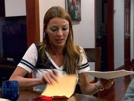 "Drita gets her affairs in order on VH1's ""Mob Wives."""