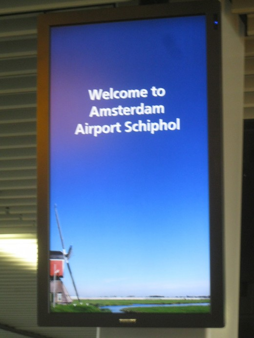 Welcome to Amsterdam Airport Schiphol