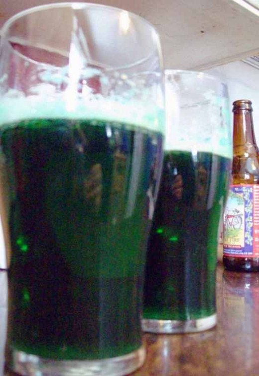 Enjoy your St. Patrick's Day beer!