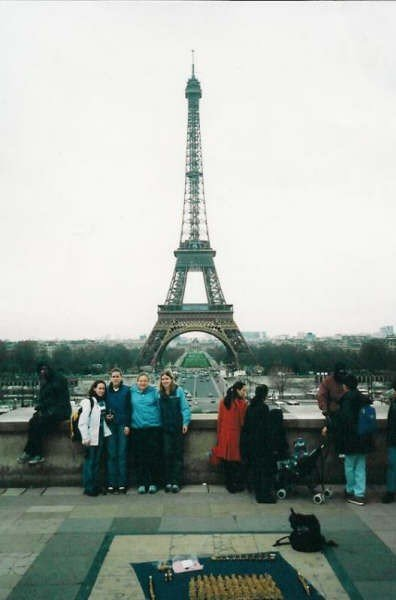 I'm the one in the light blue jacket, and my childhood best friend is to the right. This picture was taken 11 years ago, but whenever I look at it, I remember the unbelievable excitement and joy I felt at being there.