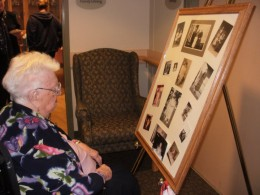 On my Grama's 99th birthday, I made a collage of photos for her and all the guests at her party to enjoy.