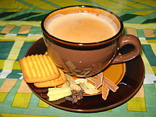 masala chai, India