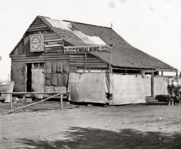 Shed taken over for embalming during the Civil War
