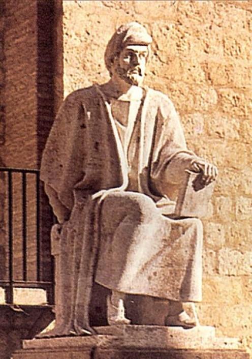 Estatua de Averroes en Córdoba