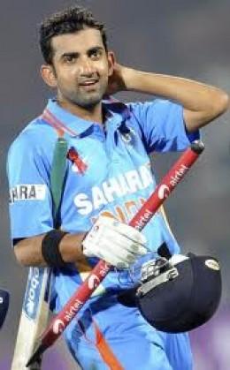 Gautam Gambhir was the backbone of  Indian innings at Adelaide