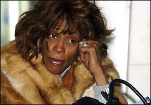 Drug addiction takes its toll on Whitney Houston.
