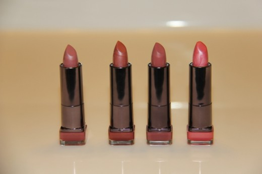L- R Romance, Hypnotic, Sultry, Sweetheart
