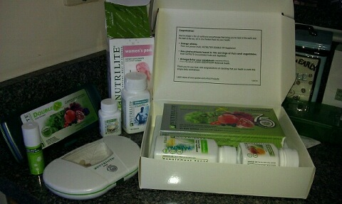 Just a few of my Nutrilite Supplements
