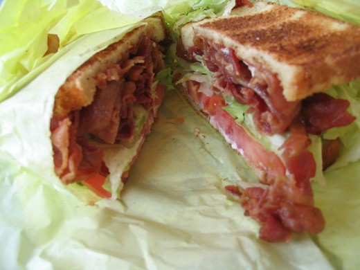 BLT Sandwich (Photo Credit: wikipedia.org)