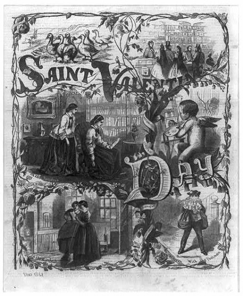 1861 edition Saturday Evening Post