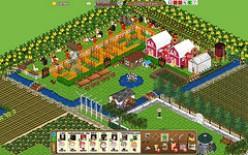 Farmville on Facebook