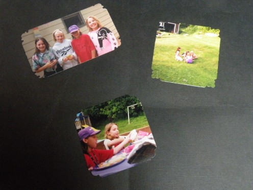 Crop photos and corner punch
