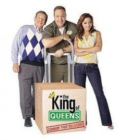 """with Jerry """"Arthur"""" Stiller (from left)  and Leah """"Carrie"""" Remini. King of Queens ran from 1998 until 2007."""