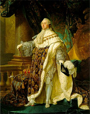 King Louis XVI's power begun to diminish in the aftermath of the storming of the Bastille.