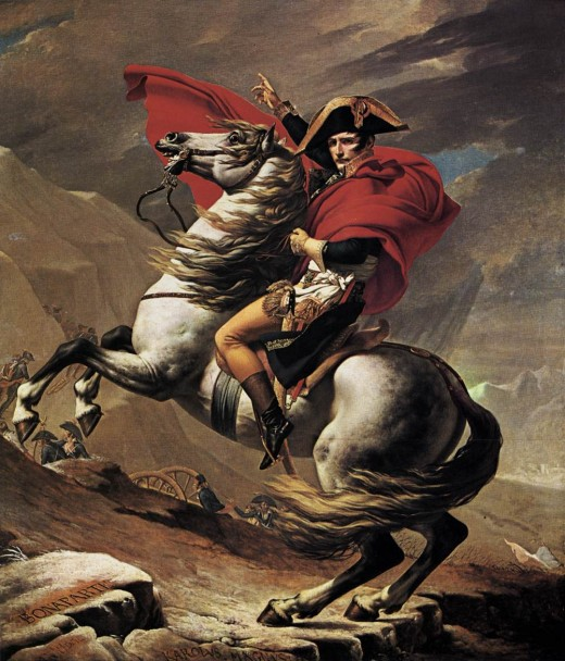 The Iconic Image of Napoleon Bonaparte.