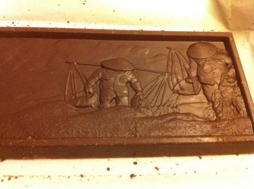 "Salazon Chocolate Co.: ""Organic Dark Chocolate with Sea Salt & Crushed Organic Coffee"""