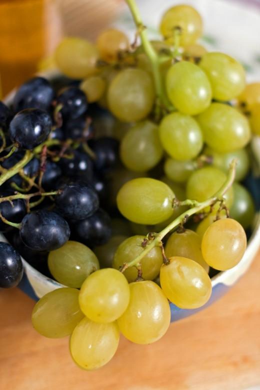 Excellent grapes.