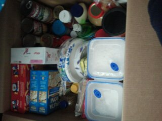 This is one of my food storage boxes, which will save me a lot of money in the future!