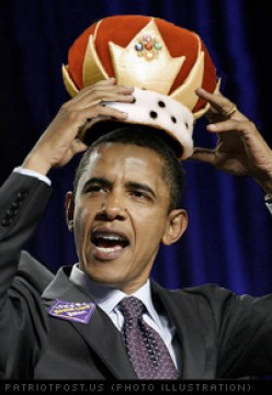All Hail King Obama