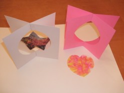 Valentines's Day Craft: 3D Cards