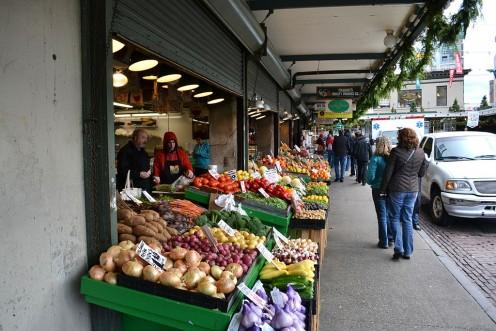 Buy fresh produce locally - save money on fresher food.