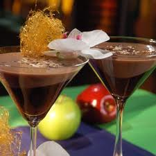 Two Chocolate Martini's