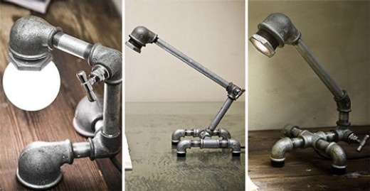 Pipe work Lamps
