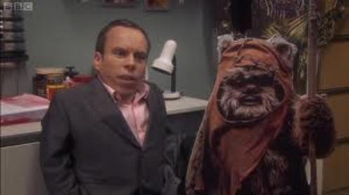 Warrick Davis Played An Ewok on Star Wars
