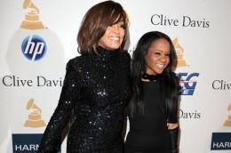 Whitney Houston with daughter Bobbie Christina