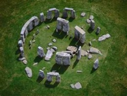 This aerial view of the circle of stones is courtesy of news.nationalgeographic.com.