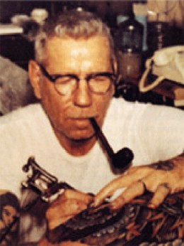 Sailor Jerry, one of the most famous tattooists from back in the day, created many of the iconic old-school tattoos
