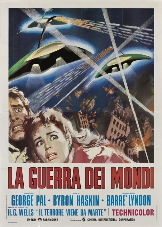 War of the Worlds (1953) - poster