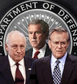 Cheney, Bush and Rumsfeld