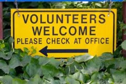 Try volunteering
