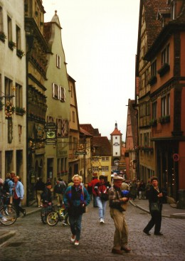 Rothenburg street scenes