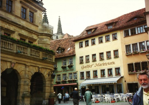Marketplace (Marktplatz) in Rothenburg