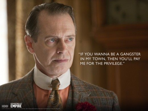 Nucky Thompson, lead actor of Boardwalk Empire