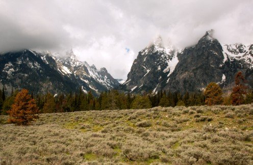 Teton Mountains, Grand Teton National Park, Wyoming