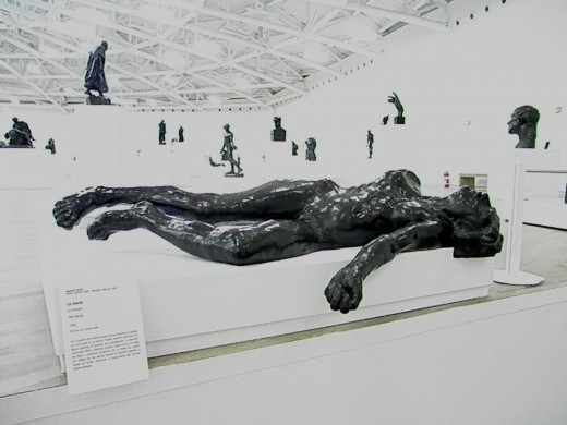 The Martyr by Auguste Rodin. Salon Paris, Soumaya Museum founded by Carlos Slim Helu. Mexico City.
