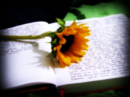 Writing makes the heart smile  :)