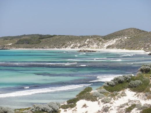 a breathtakingly beautiful and casual resort of white sandy beaches for white middle class Australians.